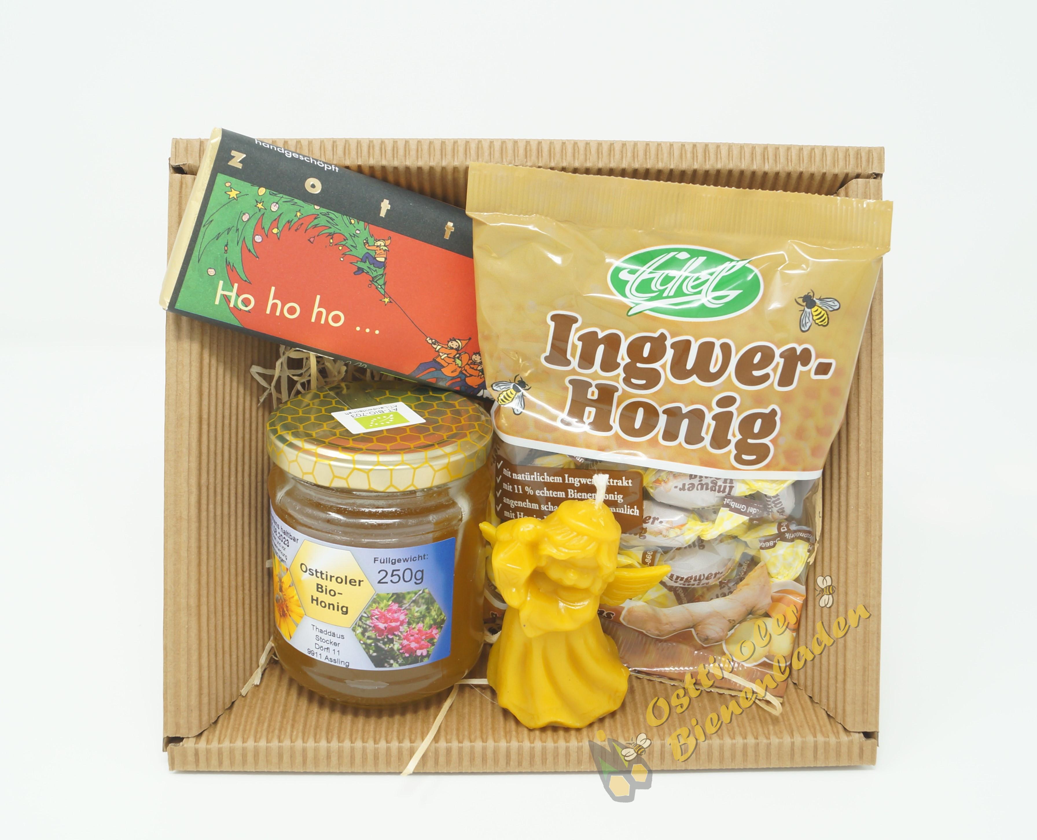 Honig Geschenkskörbchen