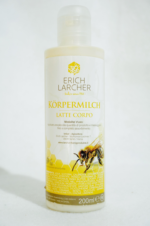 Körpermilch mit Honig 200ml