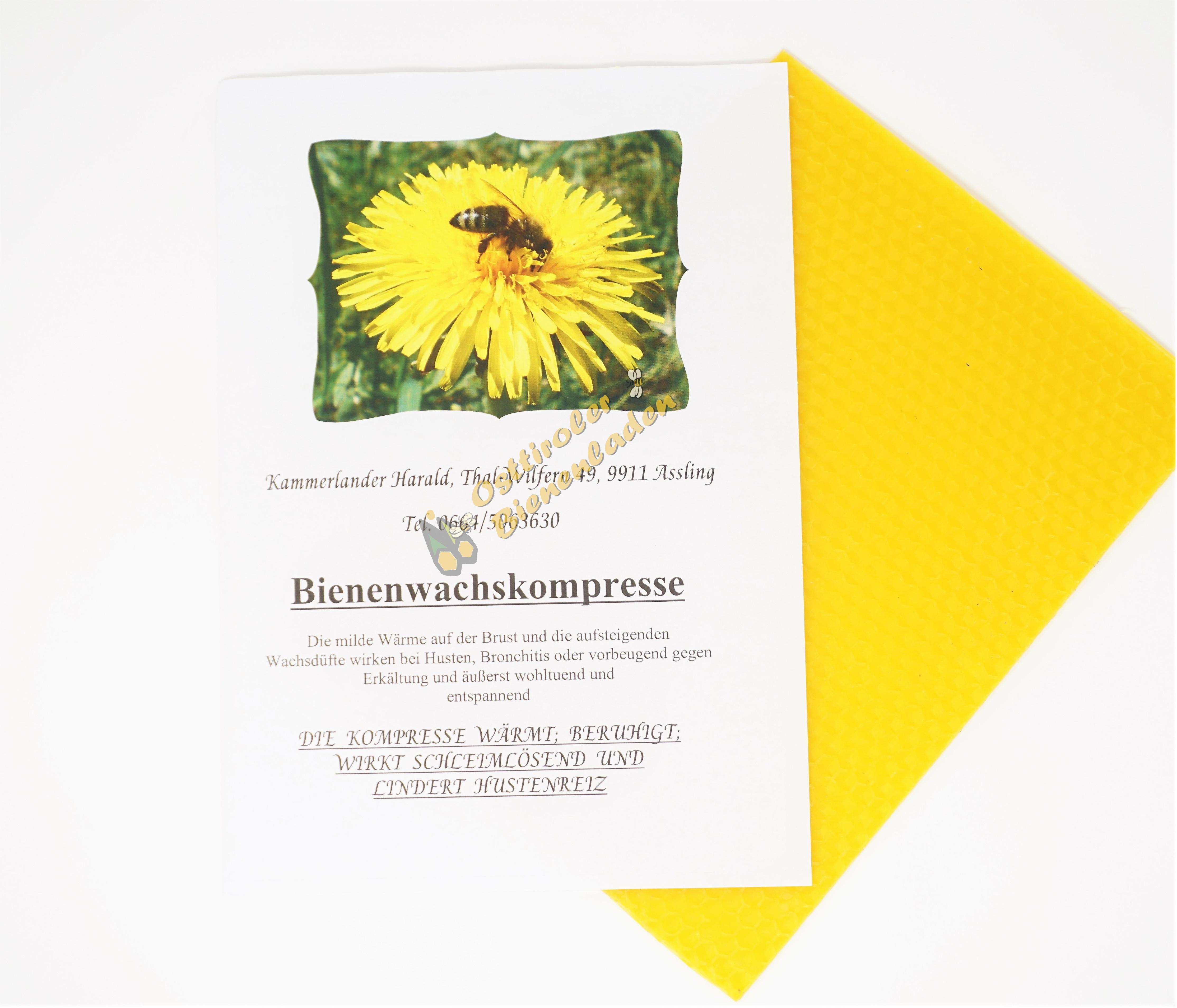Bienenwachskompresse